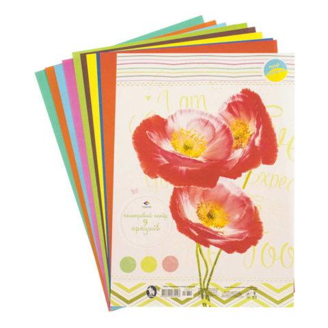 Цветная бумага «Для девочек» фото