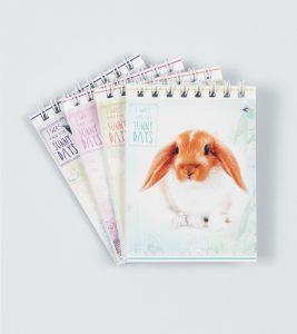 Блокнот Кролики - 60 аркушів