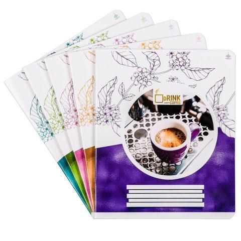 Тетради общие «Утренний кофе» фото