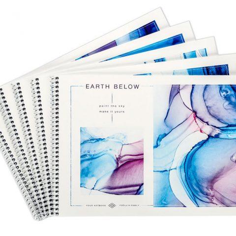 Альбом для рисования «Выше земли» фото
