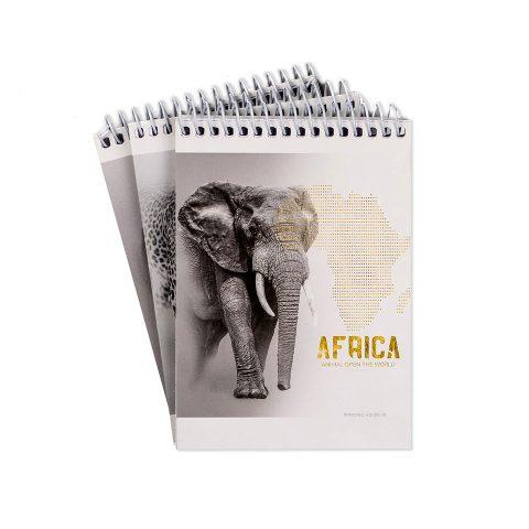 """Блокнот А6 """"Тварини Африки"""" фото"""