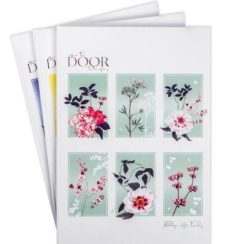 Тетрадь офисная А4 «Открой двери для весны» фото