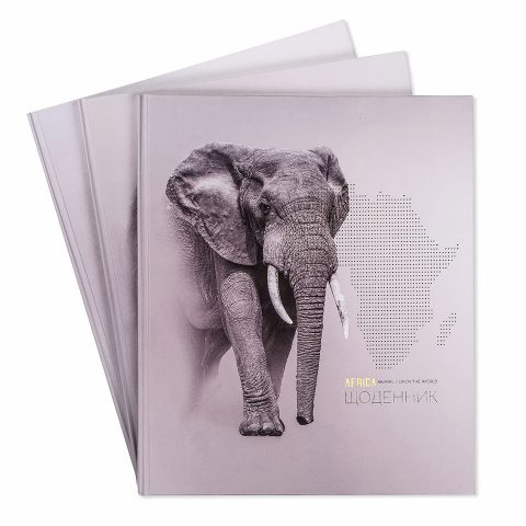 """Щоденник шкільний """"Тварини Африки"""" фото"""