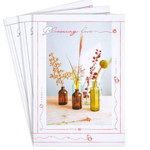 """Зошит офісний А4 """"Квіти для тебе"""" фото"""