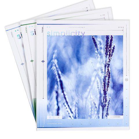 """Щоденник шкільний """"Краса в простоті"""" фото"""