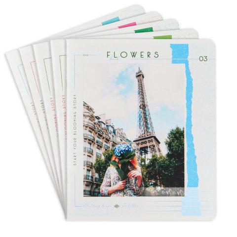 Тетради общие «Цветочная книга» фото