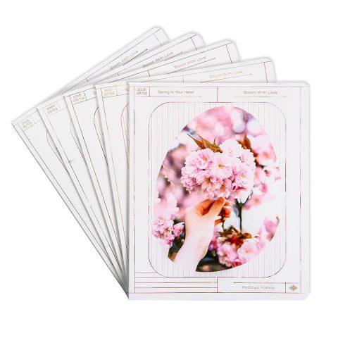 Тетради общие «Весеннее цветение» фото